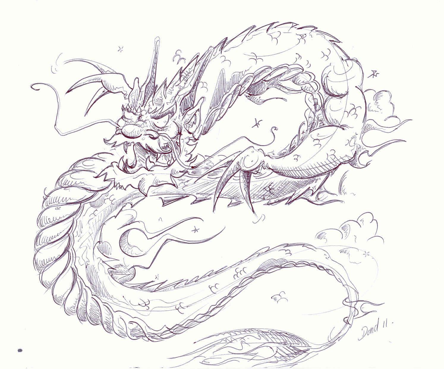 Dragon Chinois Banque DImages, Vecteurs Et